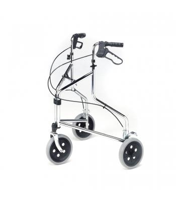 Roma Medical Tri-Wheel Walker with Loop Brakes