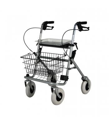 Roma Medical Safety Walker 4 Wheel Rollator