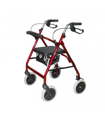 Roma Medical 2463 Lightweight 4 Wheel Rollator