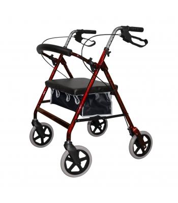 Roma Medical Heavy Duty 4 Wheel Walker