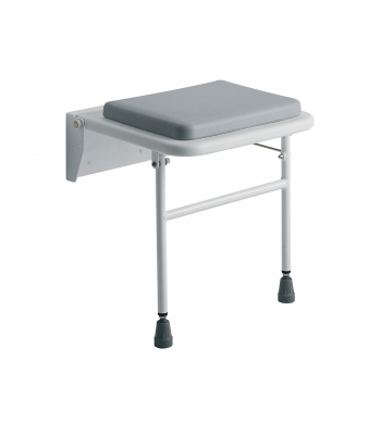 Roma Medical Padded Wall Mounted Shower Seat