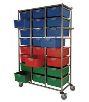 Karri Cart Triple 24 Tray
